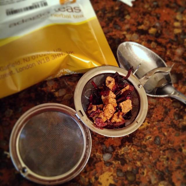 Sour Apple tea from @adagioteas