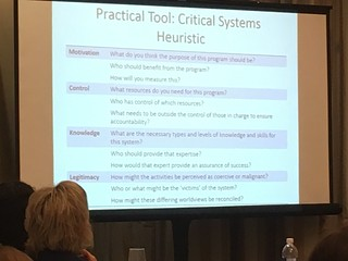 Critical systems heuristic slide