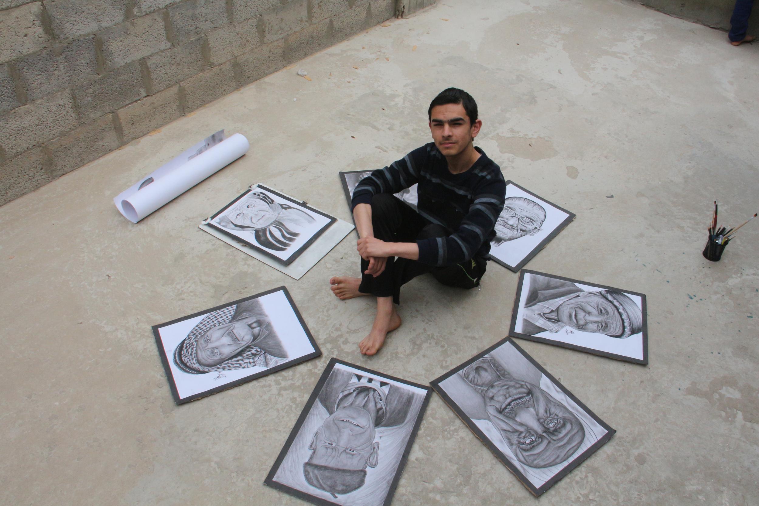 عمر رضوان غزة  (7)