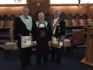 2017 05 03 Official Visit to Burlington Lodge No 165