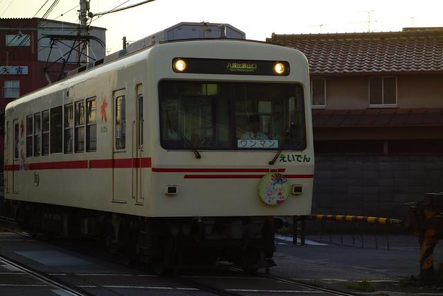 2017/05 叡山電車×きんいろモザイクPretty Days ラッピング車両 #42