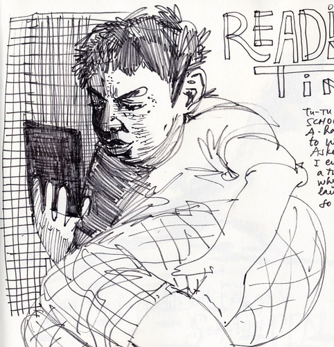 Sketchbook #103: Reading Time