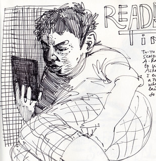 Sketchbook #103: Reading Time | by apple-pine