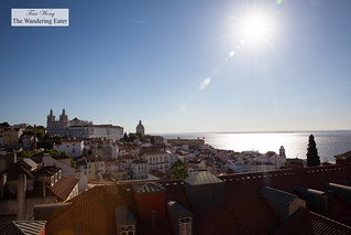 Sun beaming down on Lisbon | by thewanderingeater