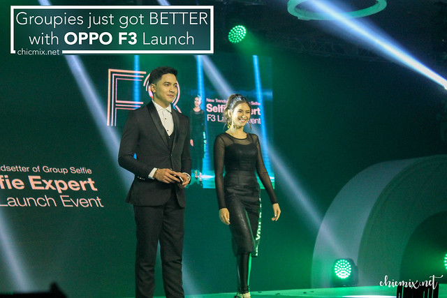 Sarah Geronimo and Alden Richards for OPPO F3