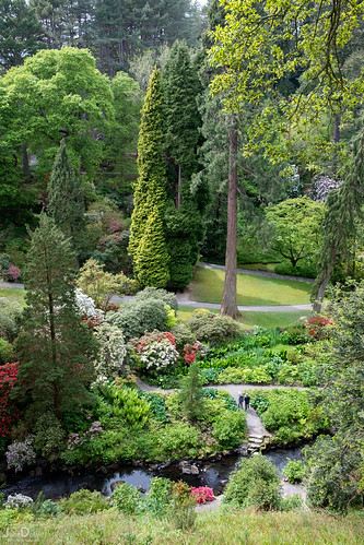 down there | bodnant gardens | by John FotoHouse