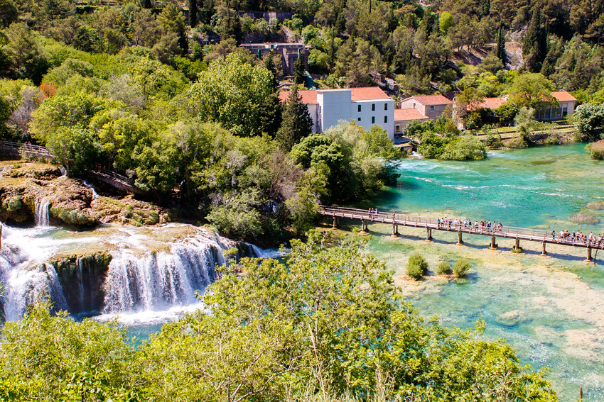 Krka waterfalls national park croatia-8326