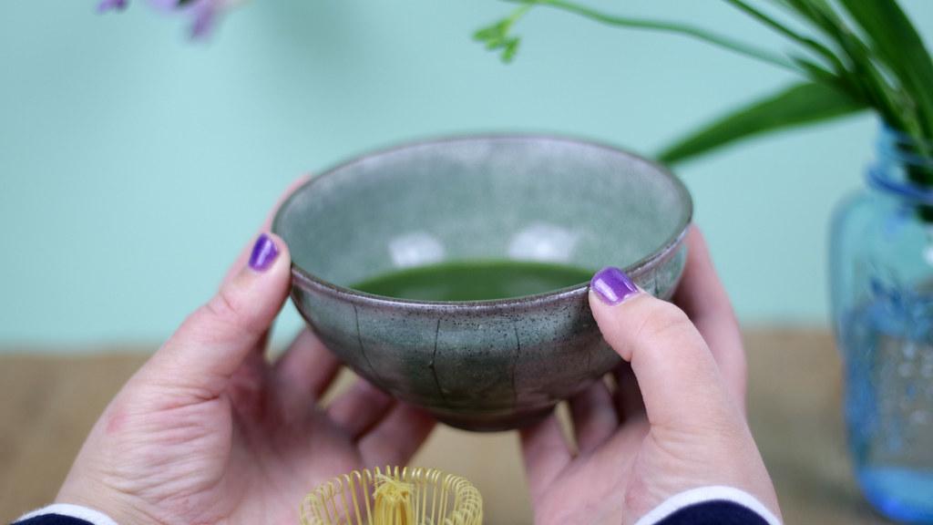Matcha Tea in Kanuka bowl