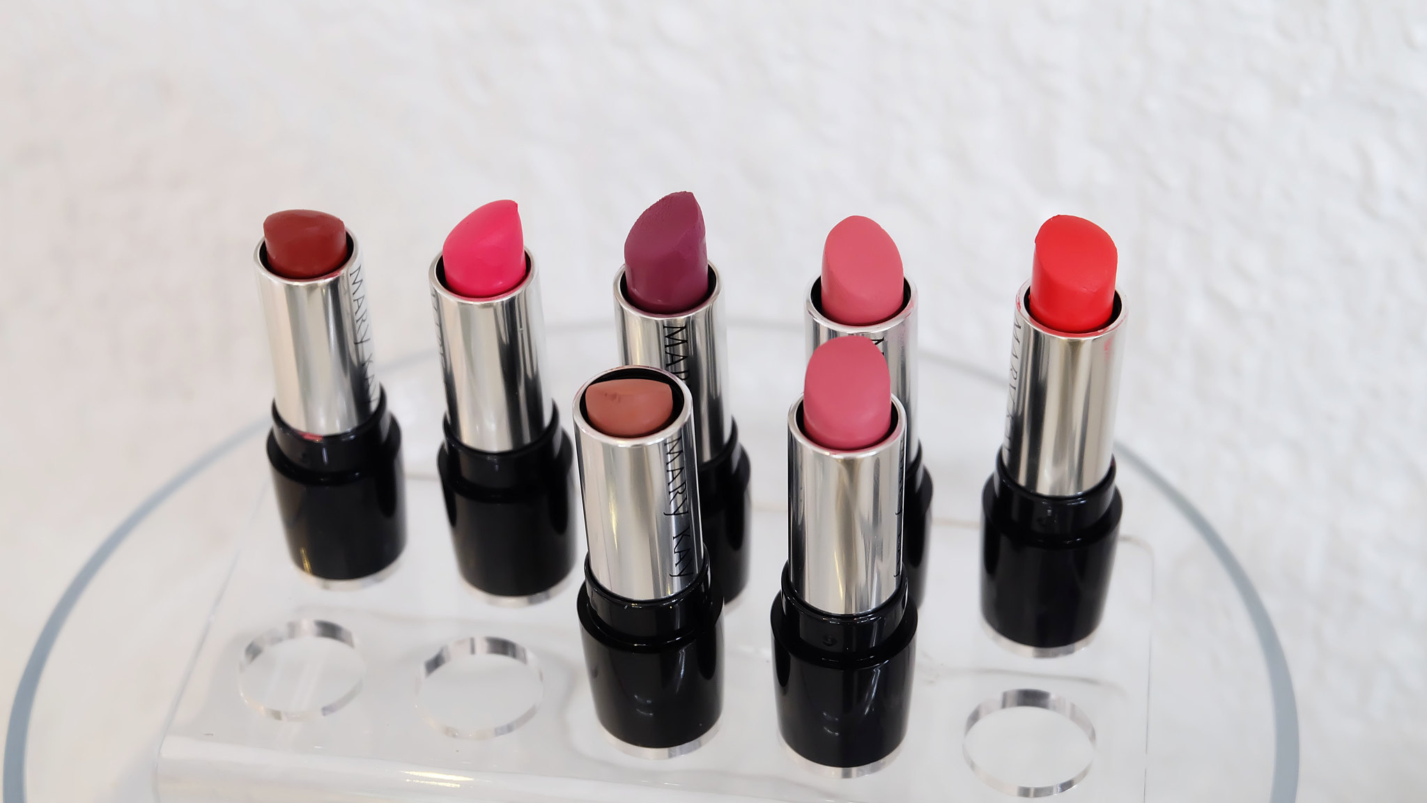 newest mary kay semi-matte gel lipsticks