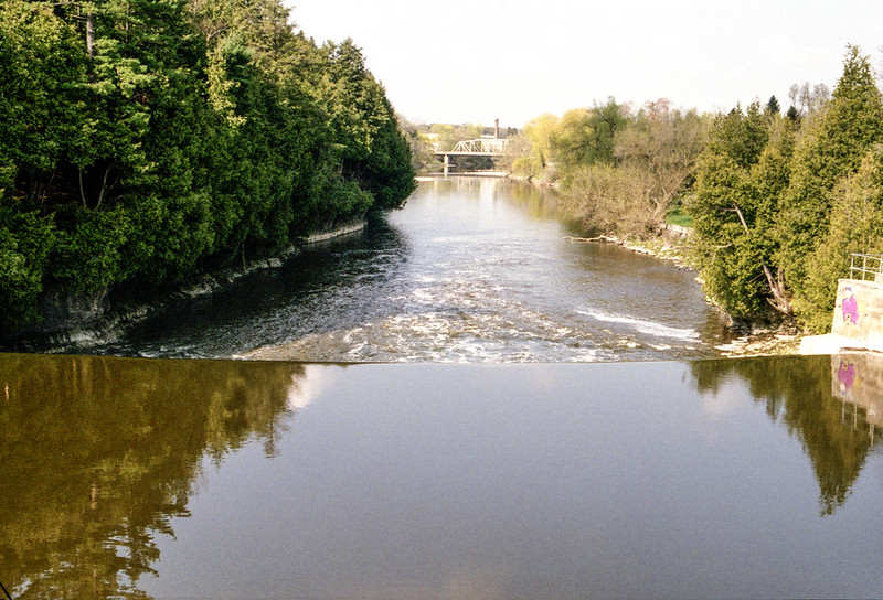 Grand River Above the Dam