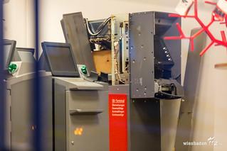 Geldautomatensprengung Biebrich 21.05.17
