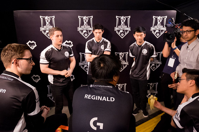 TSM team huddle