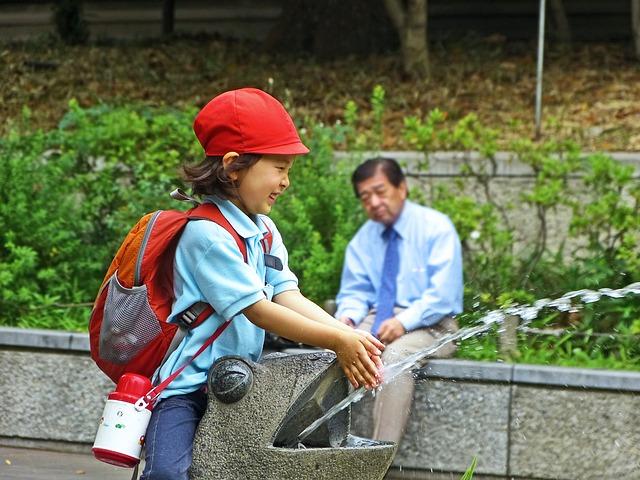 NIño japones primaria