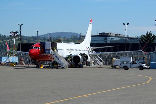 Boeing 737 MAX 8 Norwegian Air International EI-FYB LN6372