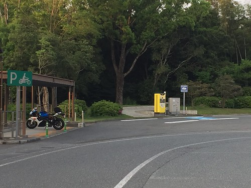九州自動車道 宮原SA(上り) EV急速充電器
