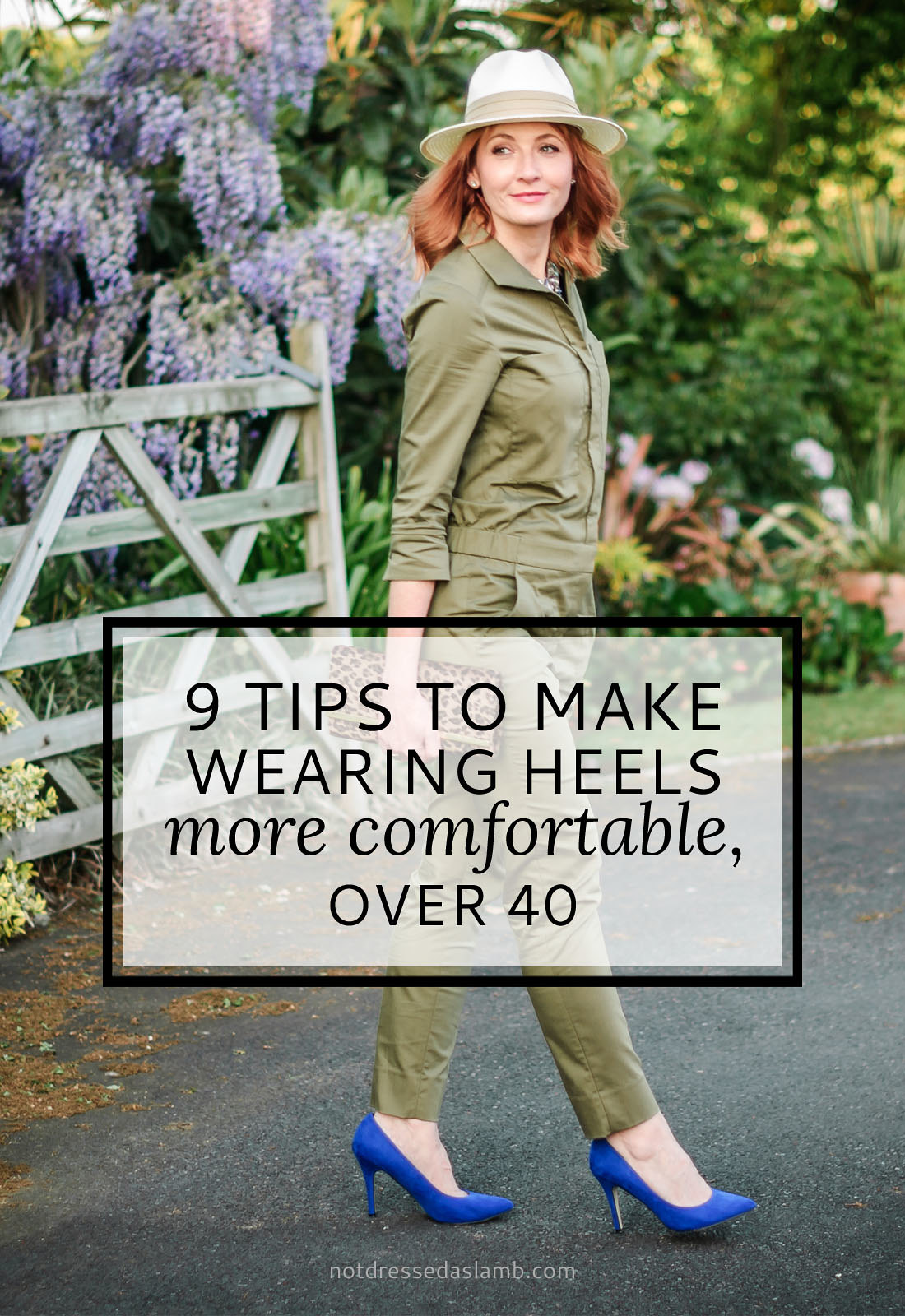 9 Tips to Make Wearing Heels More Comfortable, Over 40