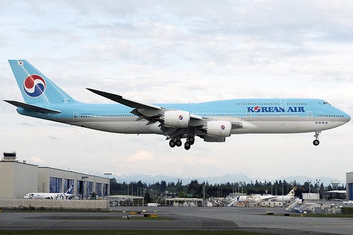 Korean Air Boeing 747-8i HL7643
