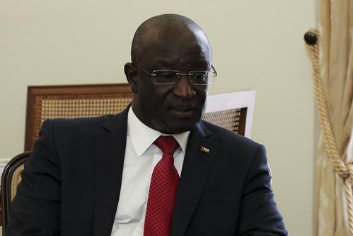 Secretária Executiva recebe cartas credenciais do Embaixador da Guiné-Bissau junto da CPLP