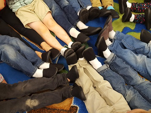 New Shoes for Ferrum Elementary Students 2017