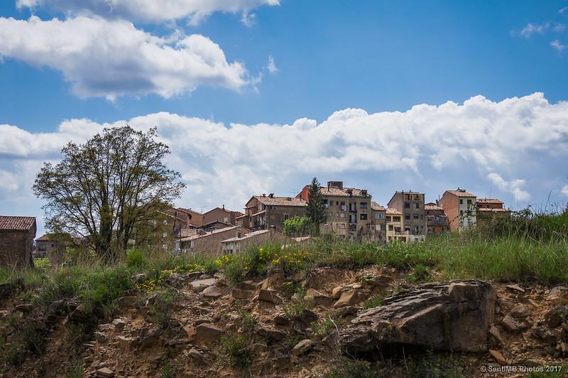 Borredà desde la carretera a Sant Jaume de Frontanyà