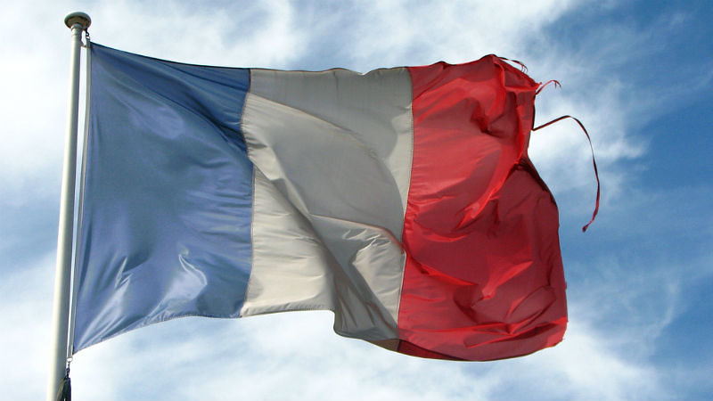 Old Frayed French Flag by fdecomite, CC BY
