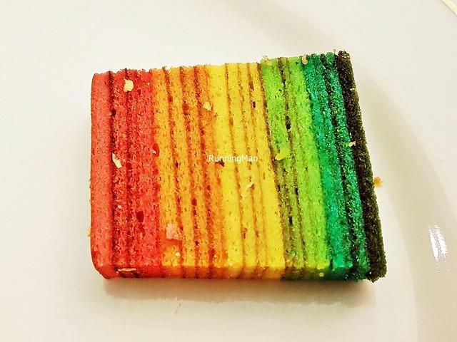 Rainbow Kueh Lapis Legit