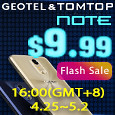 Geotel Note $9.99 Super Flash Sale