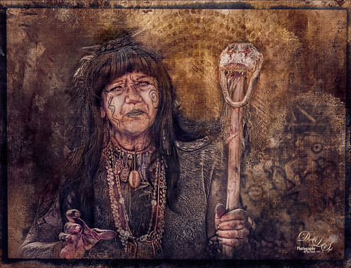 Image of a Native American Woman