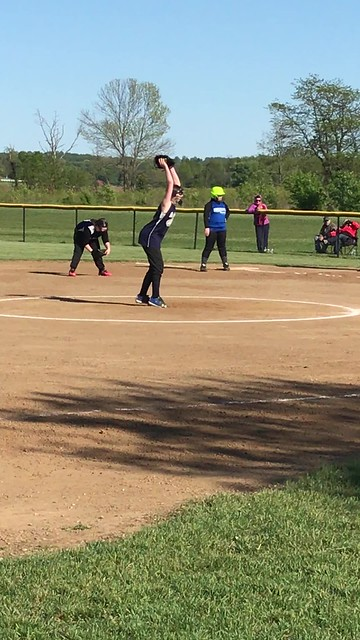 First game of the season and first time pitching
