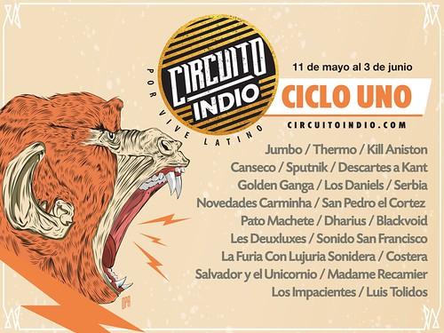 Circuito Indio - Ciclo Uno