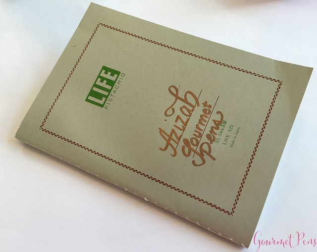 Review @LIFEStationery Pistachio A5 Notebook @AndersonPens 3