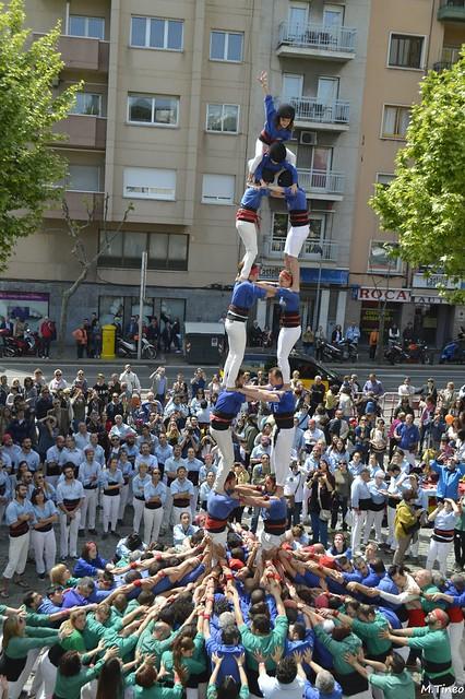 Diada de Sant Jordi dels Castellers d'Esplugues