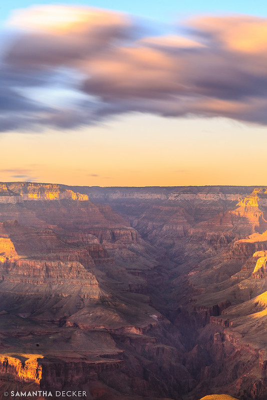 Long Exposure Grand Canyon Sunset