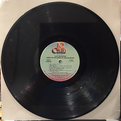 LOVE UNLIMITED:UNDER THE INFLUENCE OF... LOVE UNLIMITED(RECORD SIDE-B)