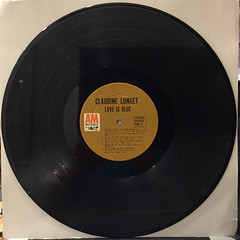 CLAUDINE:LOVE IS BLUE(RECORD SIDE-B)