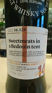 SMWS 36.129 - Sweetmeats in a Bedouin tent