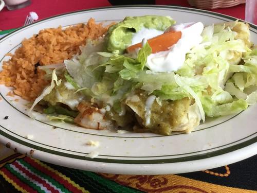 Sinaloa enchiladas