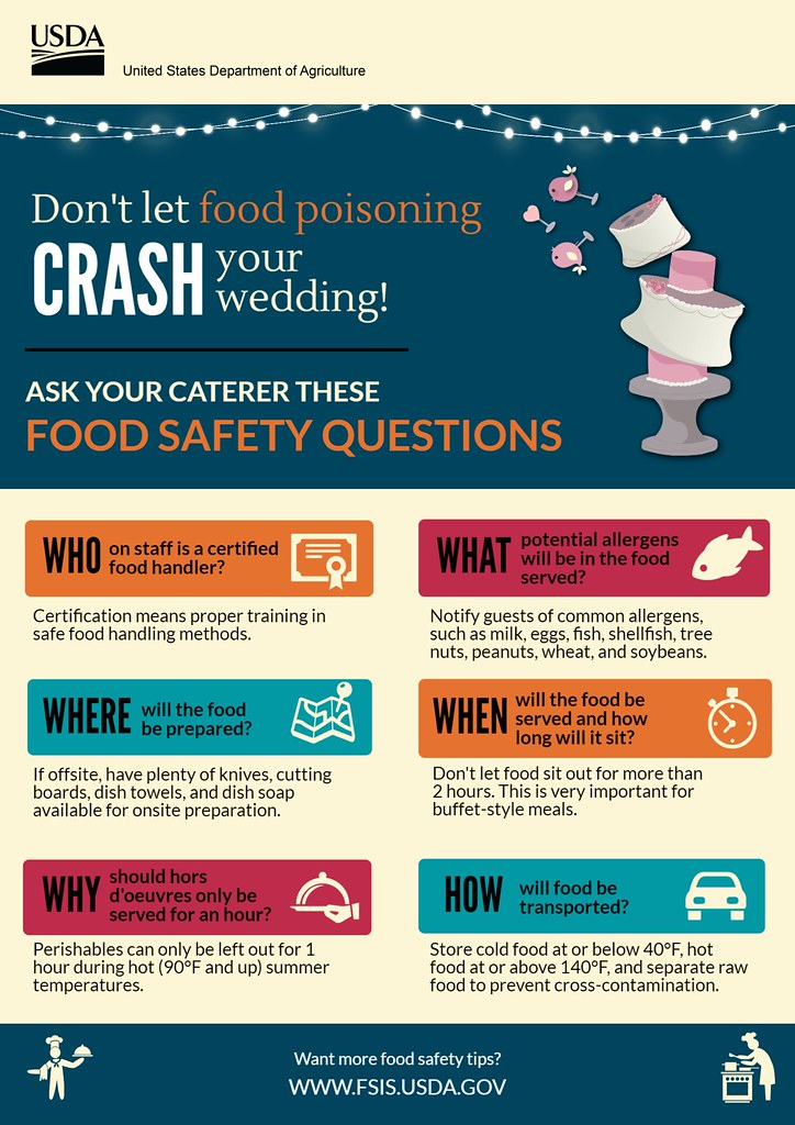 Wedding Food Safety Questions To Ask Your Caterer Flickr
