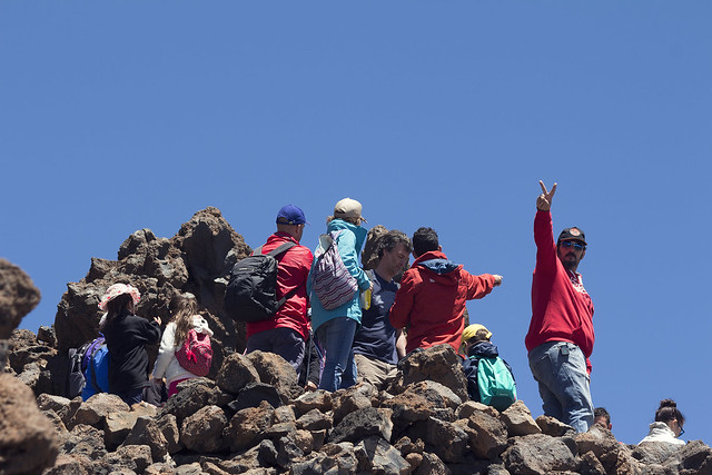 Mount Teide for families