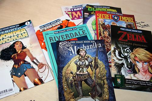 Free Comic Book Day at Mekanik Strip