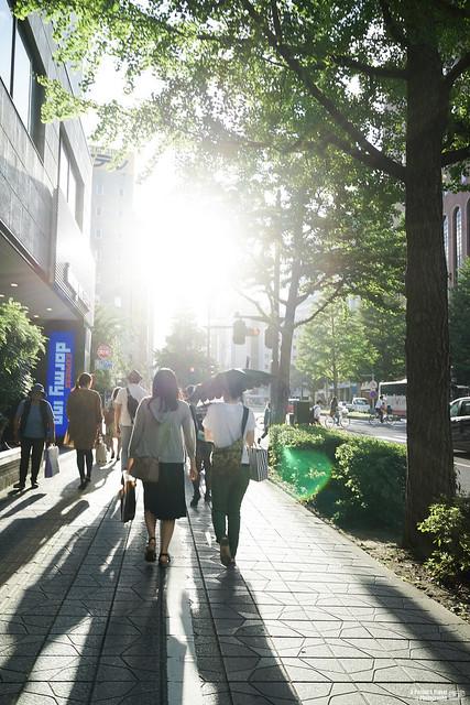 仙台 廣瀨通街景