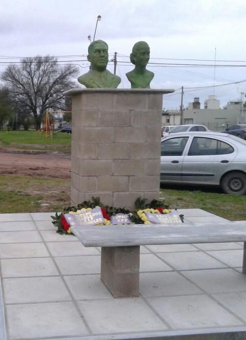 Un intendente de Cambiemos tapó a Evita y a Perón