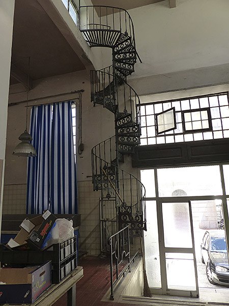 l'escalier du marché andrea doria