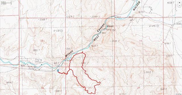 Wilson Canyon Trail 2
