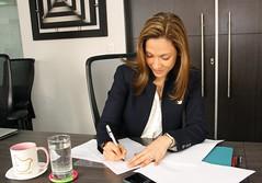 Ministra de Comercio Exterior de Colombia,María Claudia Lacouture