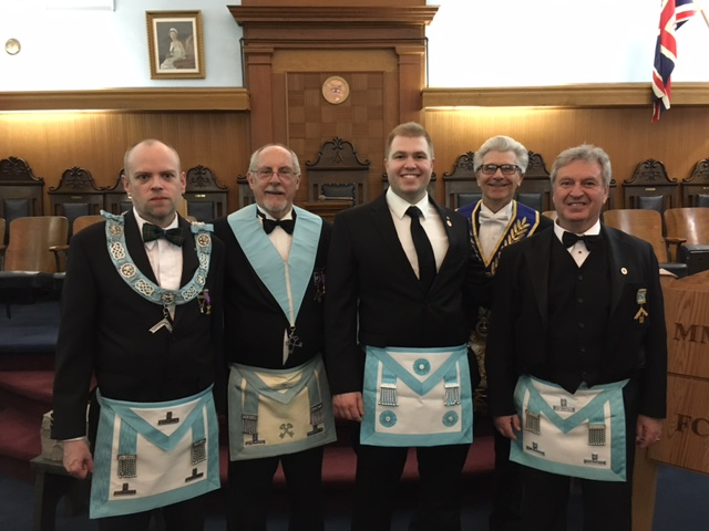 2017 04 13  Fraternal Visit to Wellington Square Lodge No 725