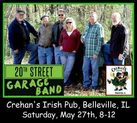 20th Street Garage Band 5-27-17