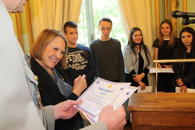 Remise du prix du Trinôme académique à l'Hôtel du Gouverneur militaire de Lyon