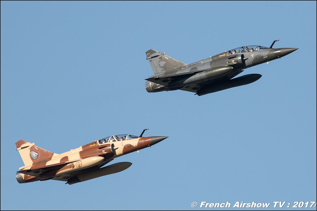 Couteau Delta Tactical Display 2017, Mirage 2000D , Couteau Delta ,Meeting de l'Air BA-106 Bordeaux-Merignac 2017
