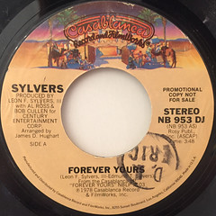 SYLVERS:FOREVER YOURS(LABEL SIDE-A)